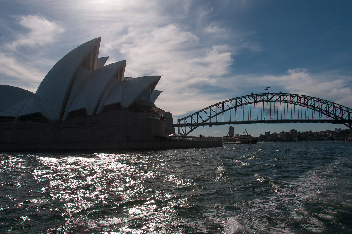 Sydney Opera House and Harbor Bridge, Australia