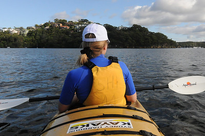 Kayaking in Sydney Harbour, Sydney, Australia
