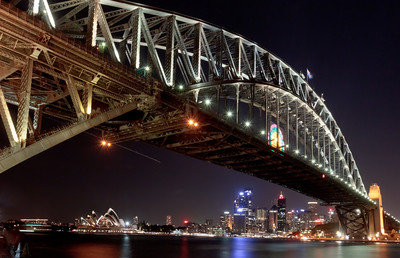 Sydney's Harbour Bridge is one of the most well-known symbols of Australia. Opened on March 19, 1932, the Harbour Bridge is one of the largest steel arch bridges in the world.