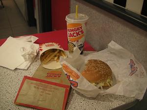 ...and it tastes like Burger King...
