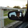 Sneaky shot through the mirror!