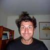 Anthony's crazy hair!