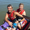 Adam taking Frank out on the Jetski!