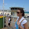 Elise at Bondi Beach