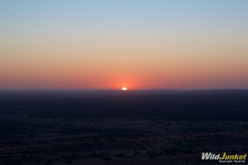 Sunrise over Alice Springs
