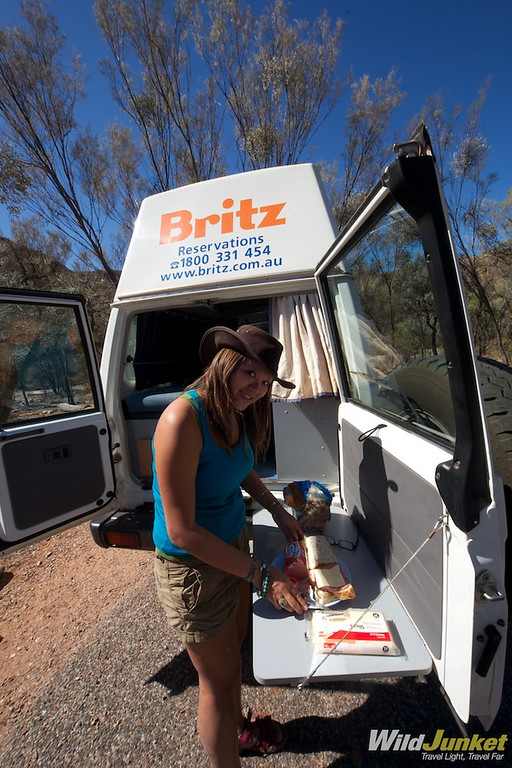 Our Bushcamper from Britz Australia