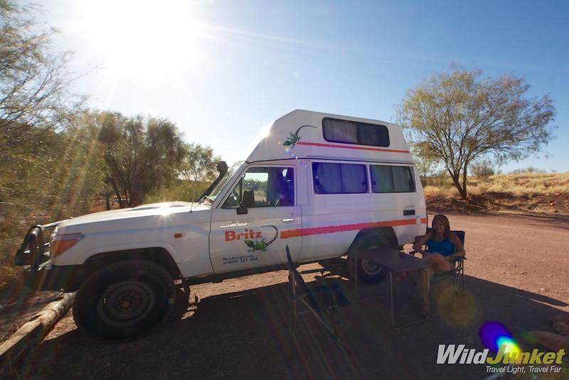 Our Bushcamper from Britz Australia