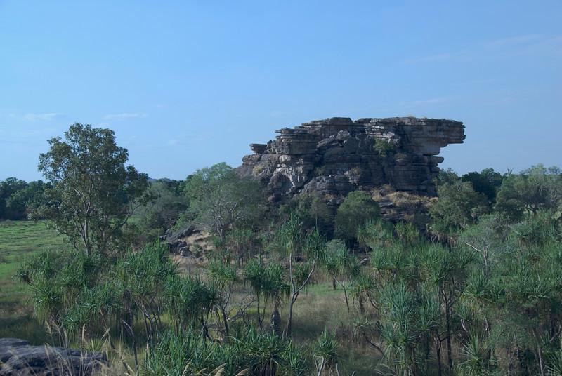 Rock Formation, Ubirr, Kakadu National Park - Northern Territory, Australia