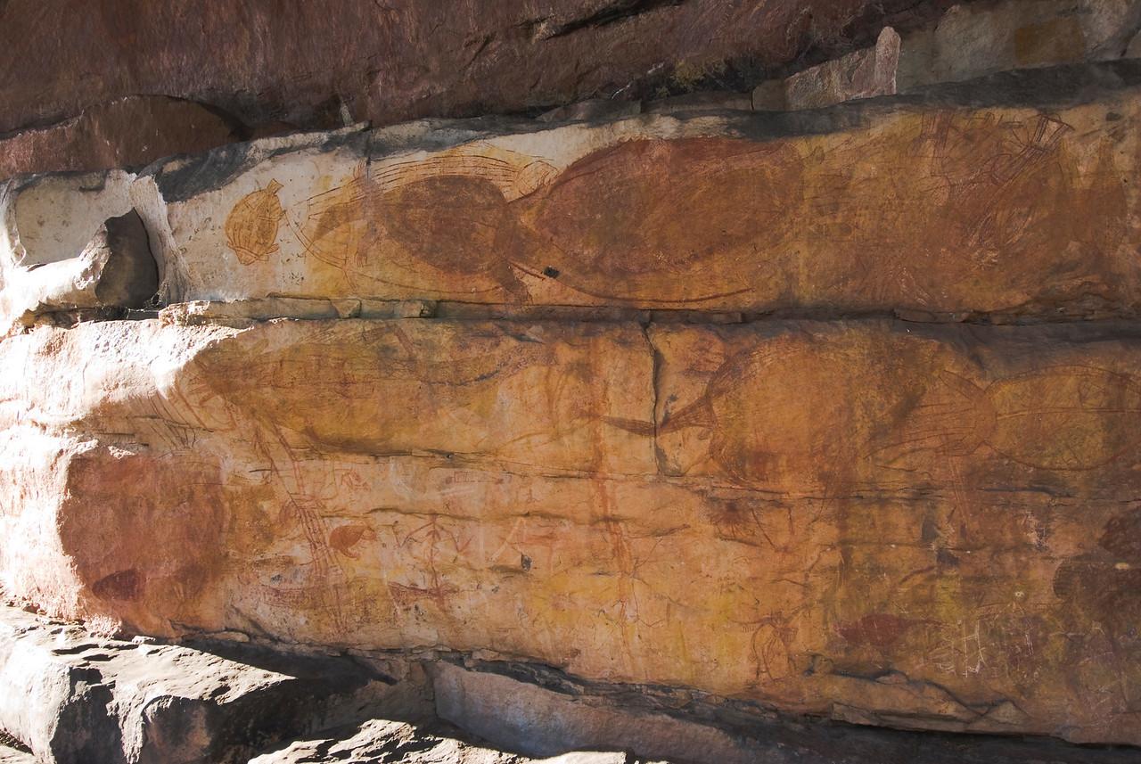 Ubirr Artwork 12, Kakadu National Park - Northern Territory, Australia