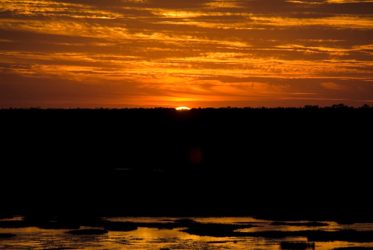Sunset Over Wetlands 5, Kakadu National Park - Northern Territory, Australia