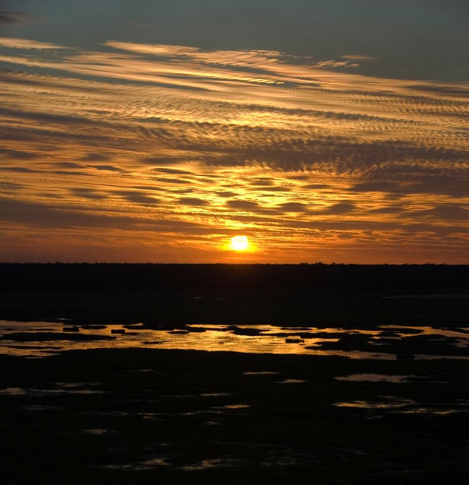 Sunset Over Wetlands 10, Kakadu National Park - Northern Territory, Australia