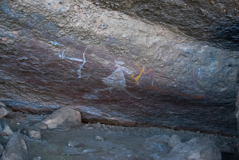 Rock Art 1, Anbangbang, Kakadu National Park - Northern Territory, Australia