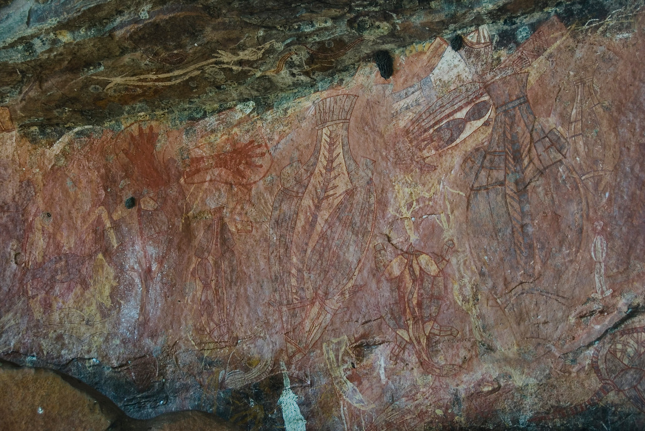 Ubirr Artwork 18, Kakadu National Park - Northern Territory, Australia