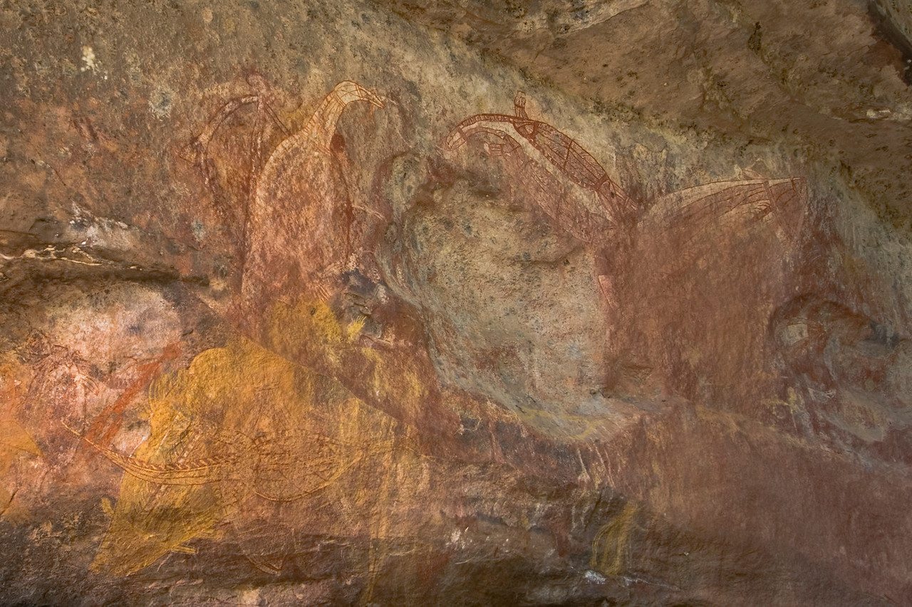 Ubirr Artwork 13, Kakadu National Park - Northern Territory, Australia