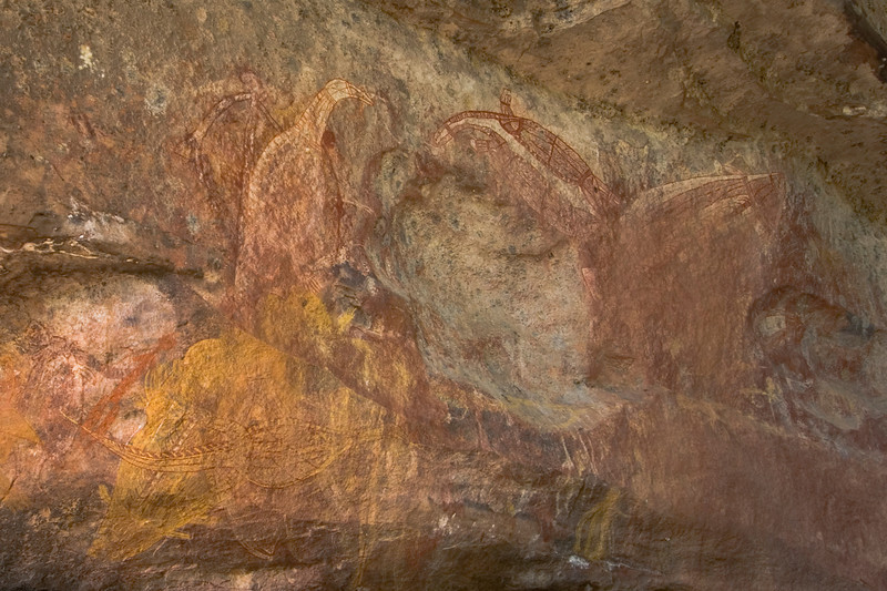 Ubirr Artwork 13, Kakadu National Park - Northern Territory, Australia