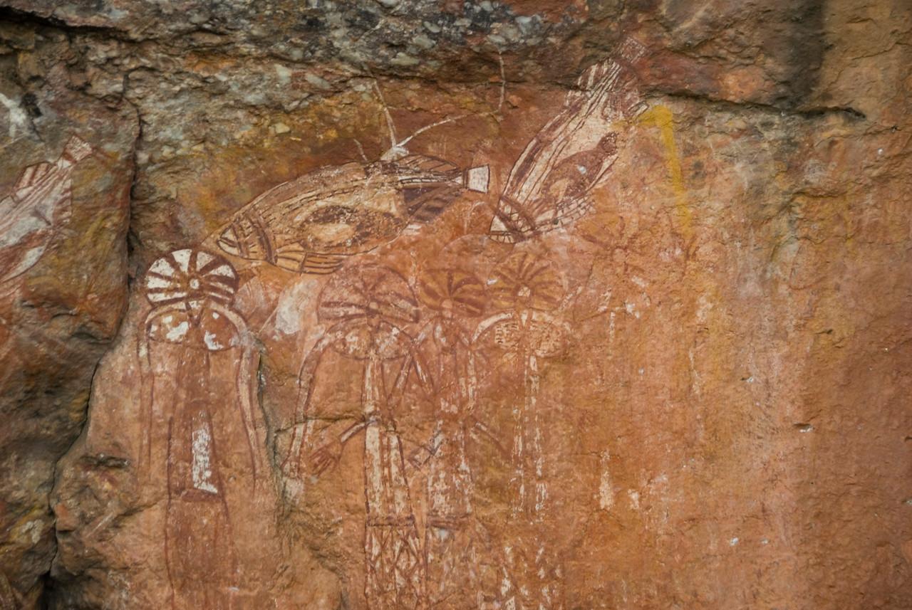 Rock Art 10, Anbangbang, Kakadu National Park - Northern Territory, Australia
