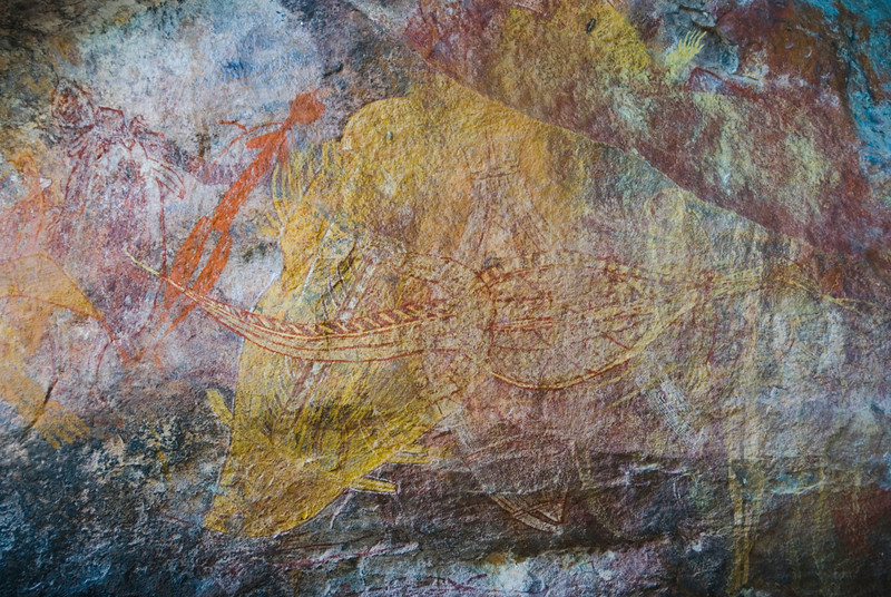 Ubirr Artwork 14, Kakadu National Park - Northern Territory, Australia