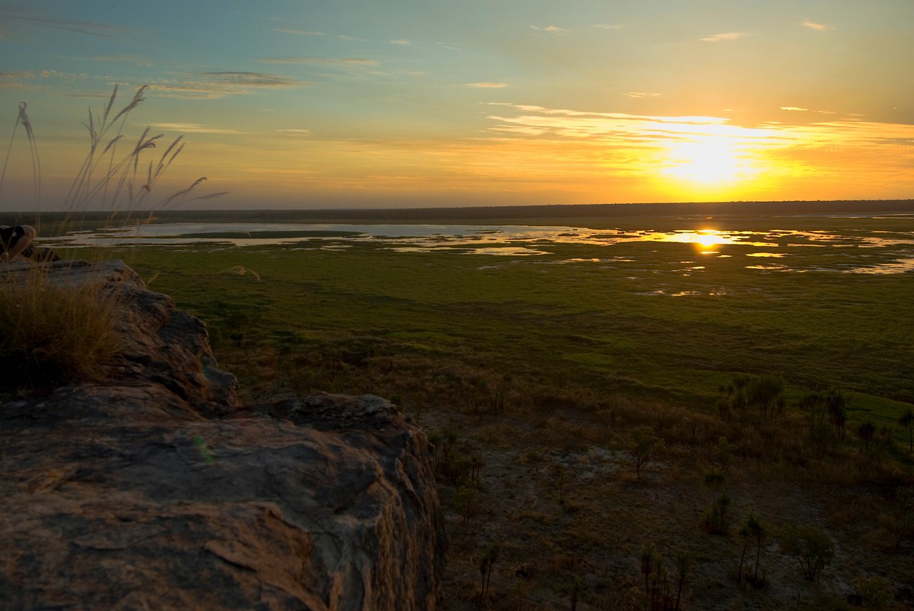 Sunset Over Wetlands 4, Kakadu National Park - Northern Territory, Australia
