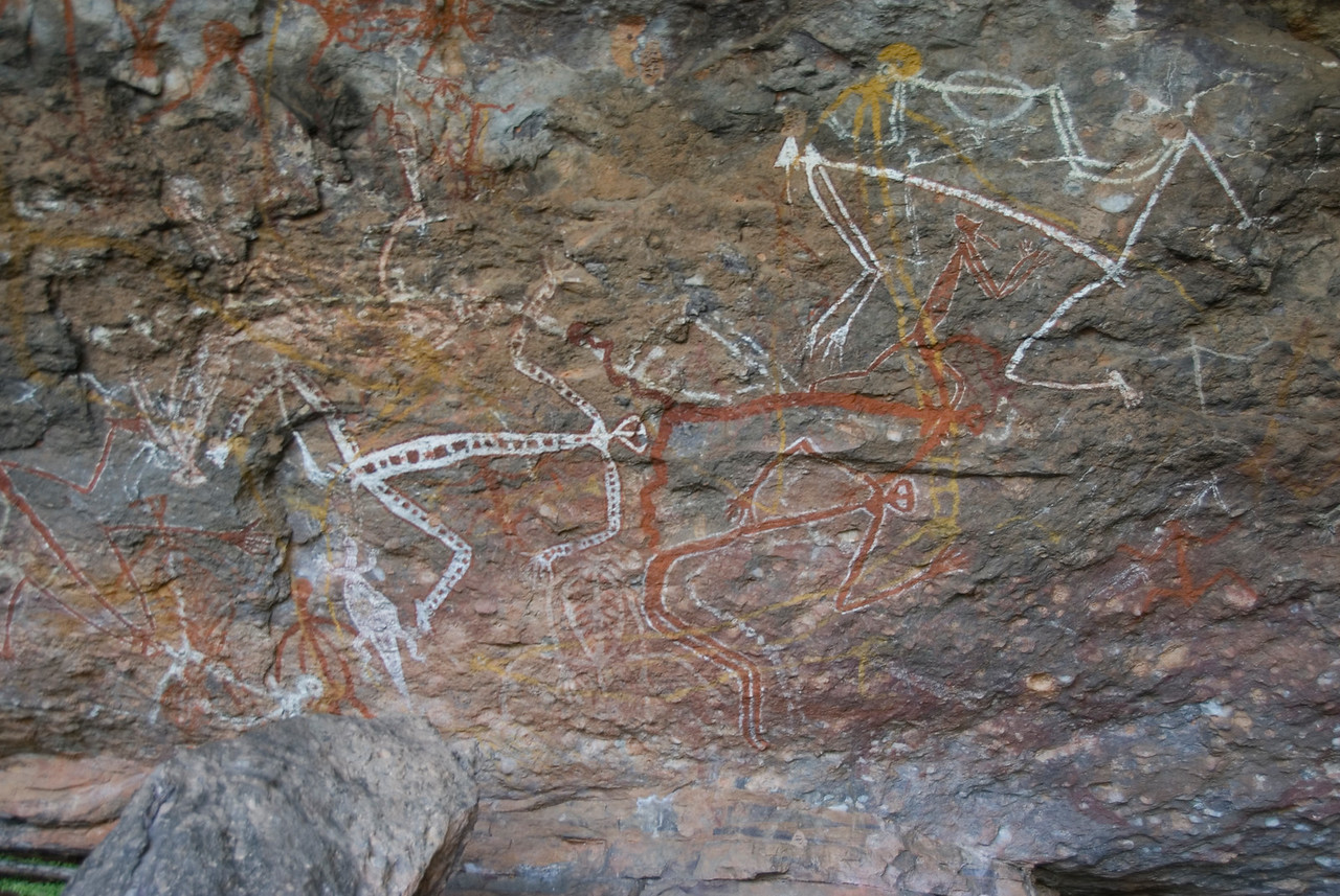 Rock Art 7, Anbangbang, Kakadu National Park - Northern Territory, Australia