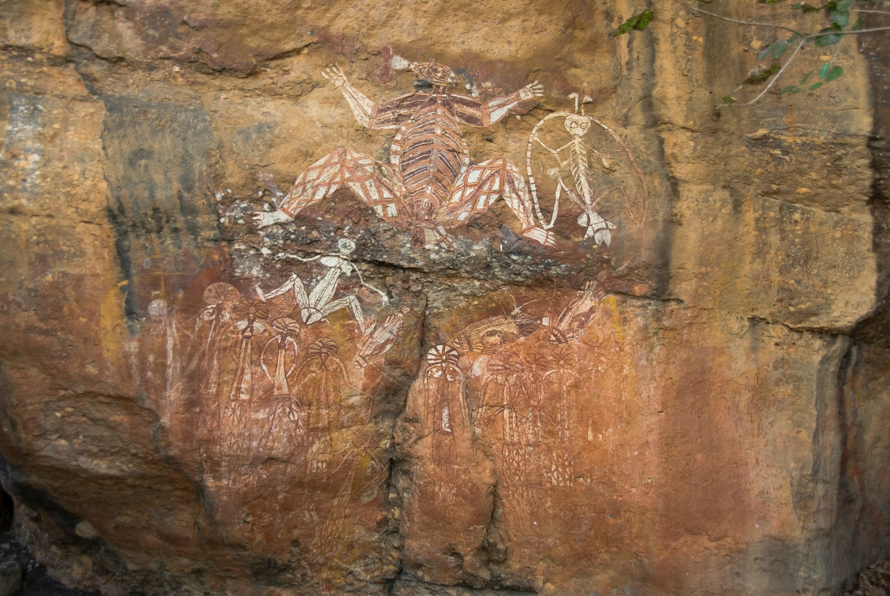Rock Art 14, Anbangbang, Kakadu National Park - Northern Territory, Australia