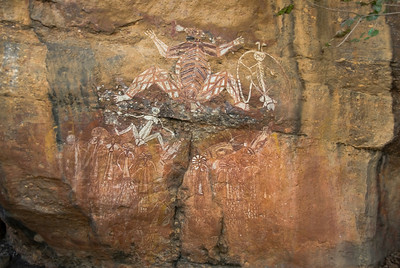 Rock Art 14, Anbangbang, Kakadu National Park - Northern Territory, Australia