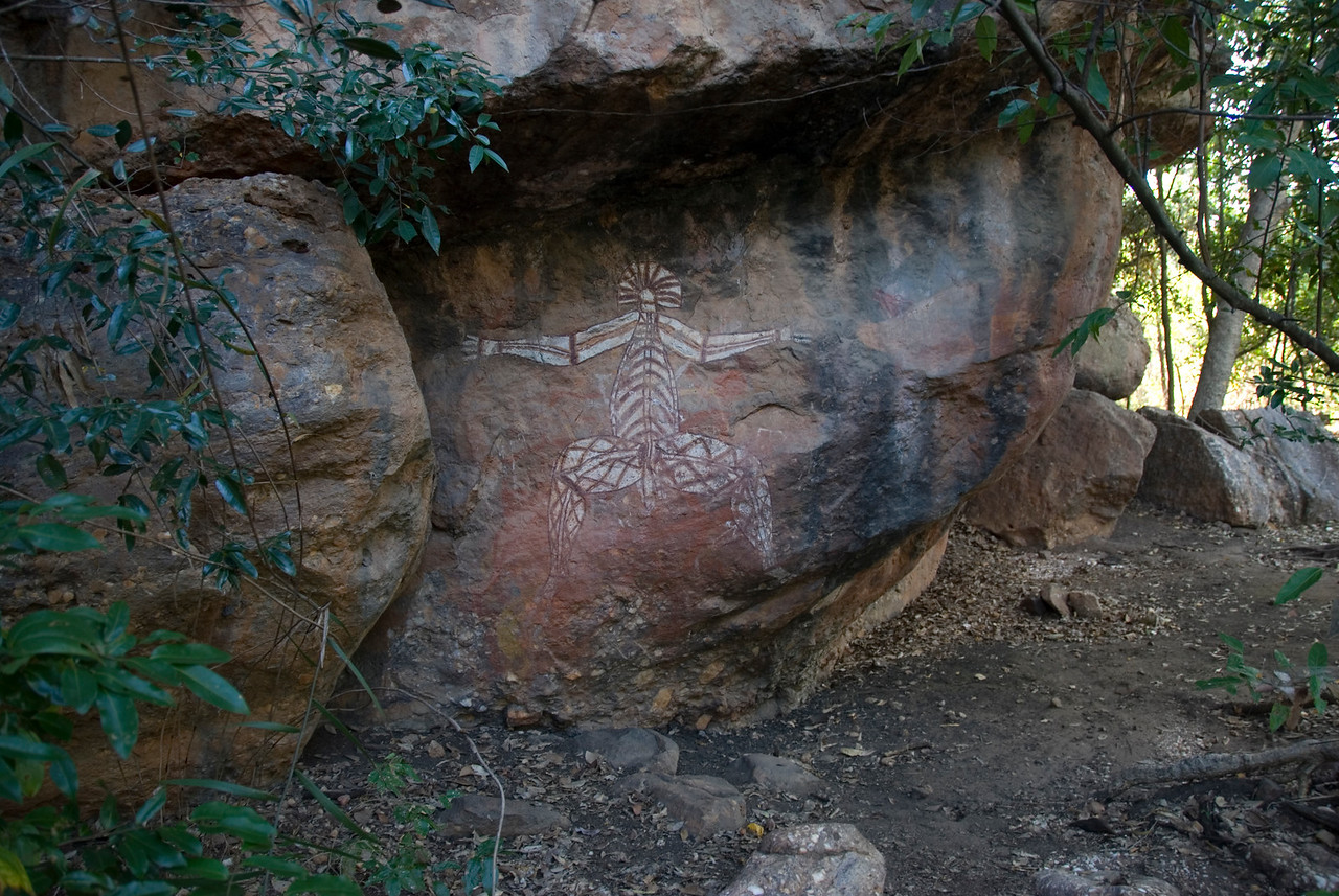 Nabulwinjbulwinj Rock Art, Anbangbang, Kakadu National Park - Northern Territory, Australia