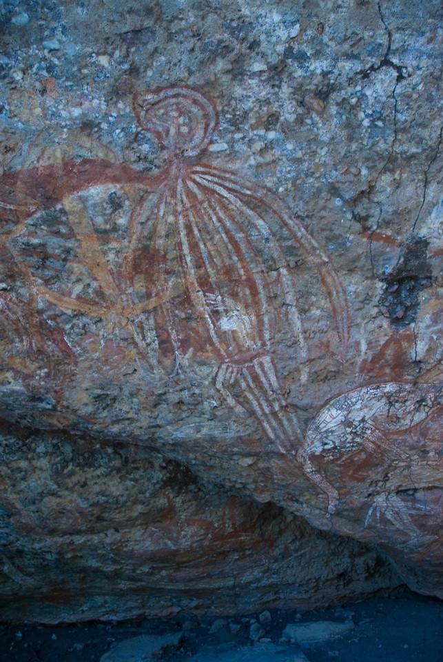 Rock Art 5, Anbangbang, Kakadu National Park - Northern Territory, Australia