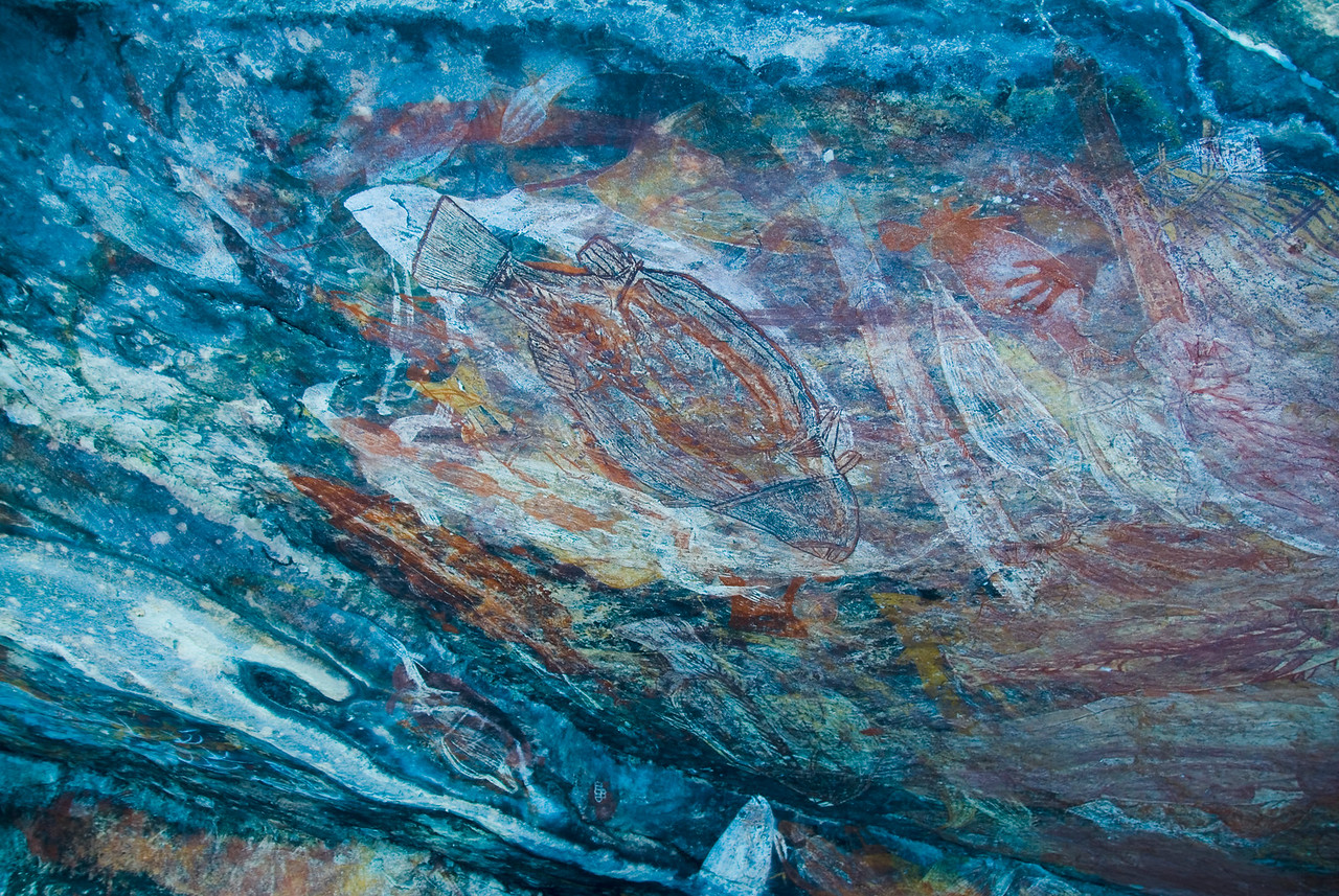 Ubirr Artwork 21, Kakadu National Park - Northern Territory, Australia