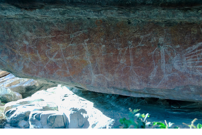 Ubirr Artwork 22, Kakadu National Park - Northern Territory, Australia