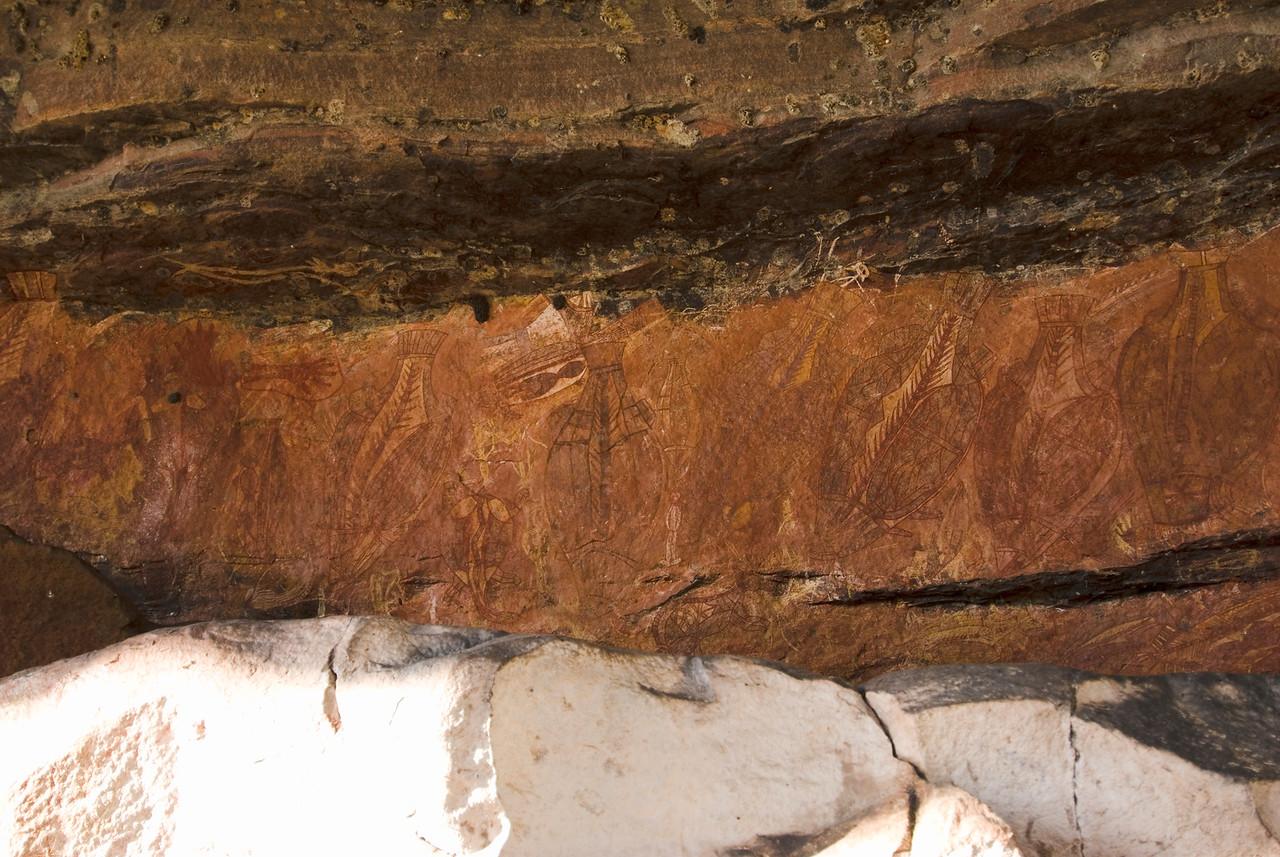 Ubirr Artwork 8, Kakadu National Park - Northern Territory, Australia