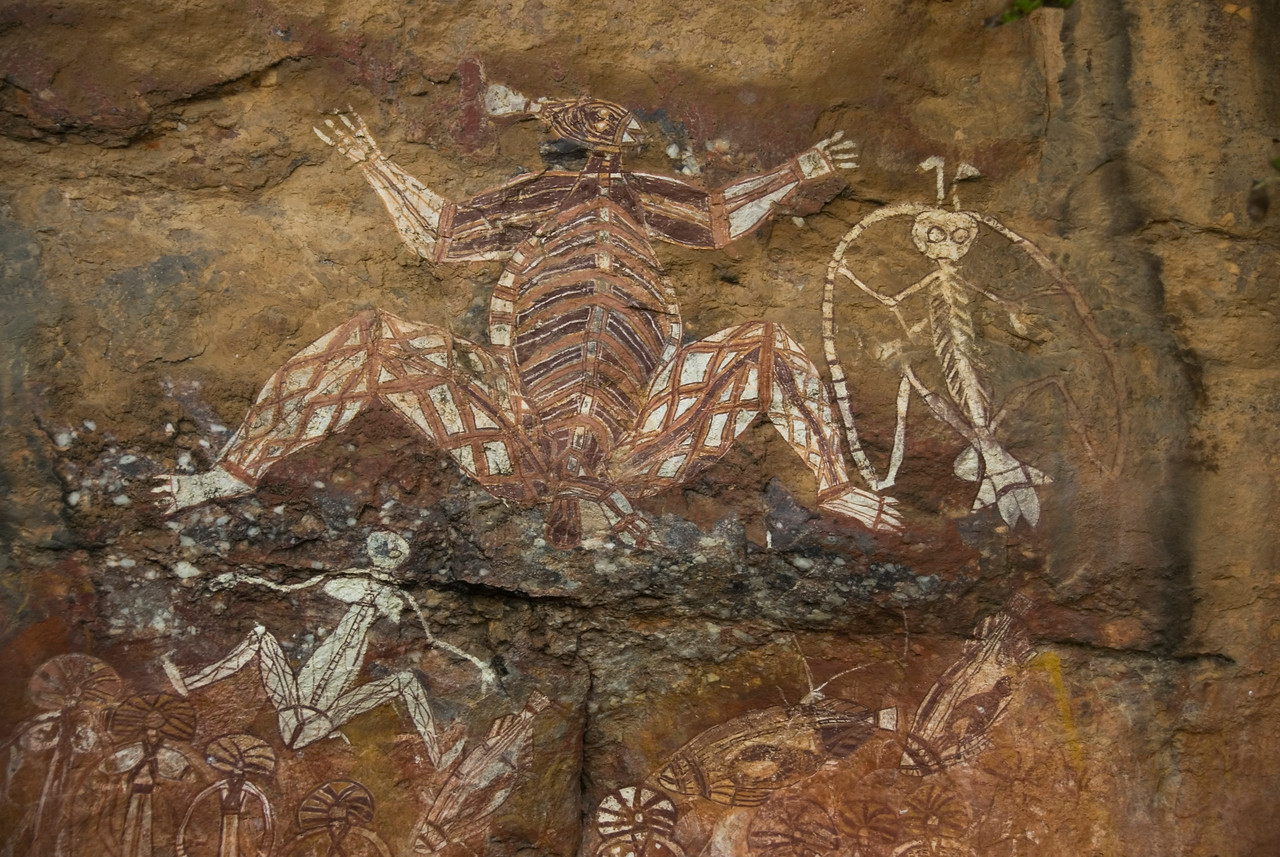 Rock Art 12, Anbangbang, Kakadu National Park - Northern Territory, Australia