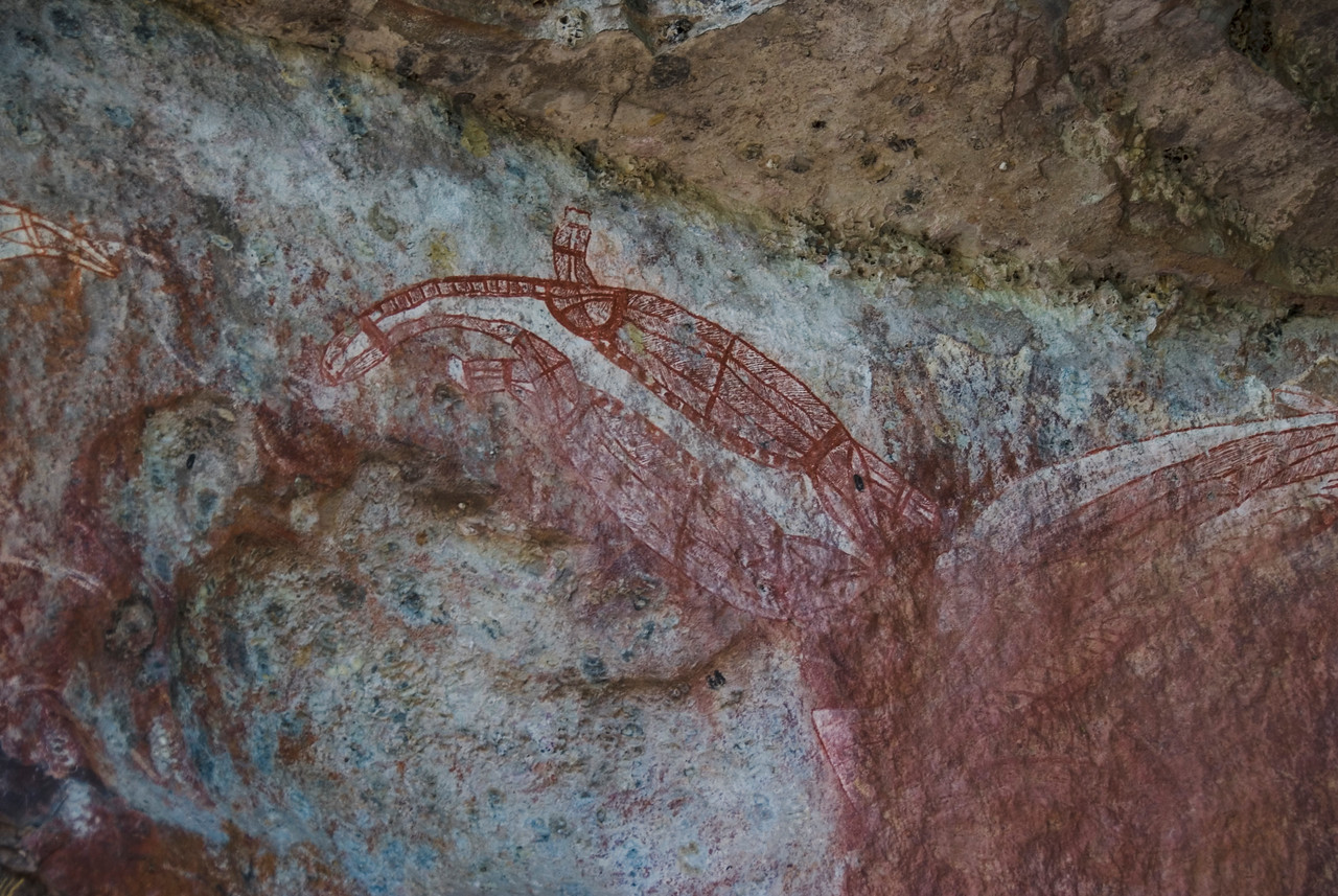 Ubirr Artwork 15, Kakadu National Park - Northern Territory, Australia