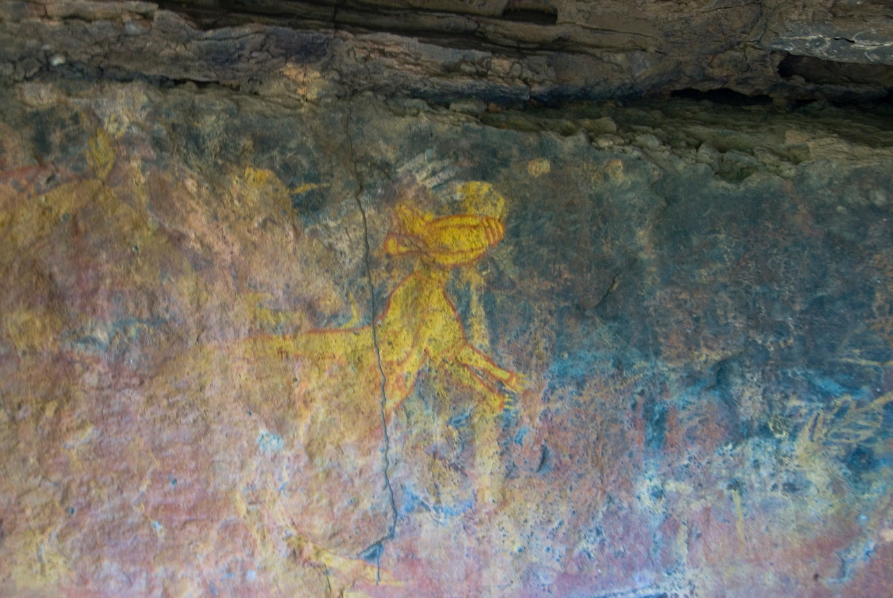 Rock Art 9, Anbangbang, Kakadu National Park - Northern Territory, Australia