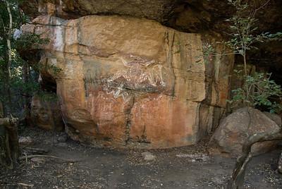 Rock Art 13, Anbangbang, Kakadu National Park - Northern Territory, Australia