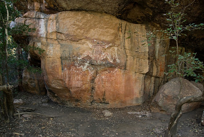 Rock Art 13, Anbangbang, Kakadu National Park - Northern Territory, Australia