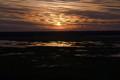 Sunset Over Wetlands 2, Kakadu National Park - Northern Territory, Australia