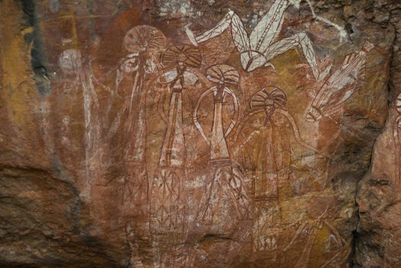 Rock Art 11, Anbangbang, Kakadu National Park - Northern Territory, Australia