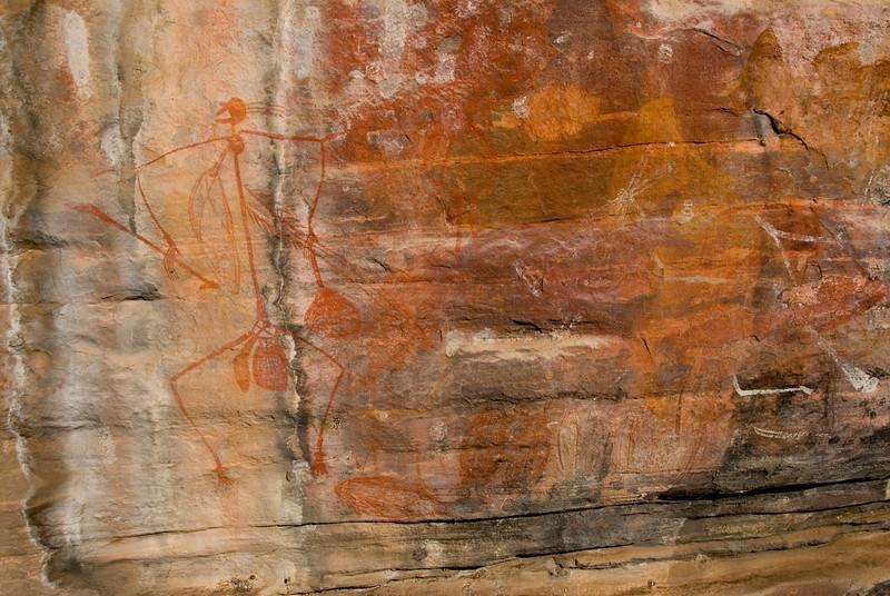 Ubirr Artwork 5, Kakadu National Park - Northern Territory, Australia
