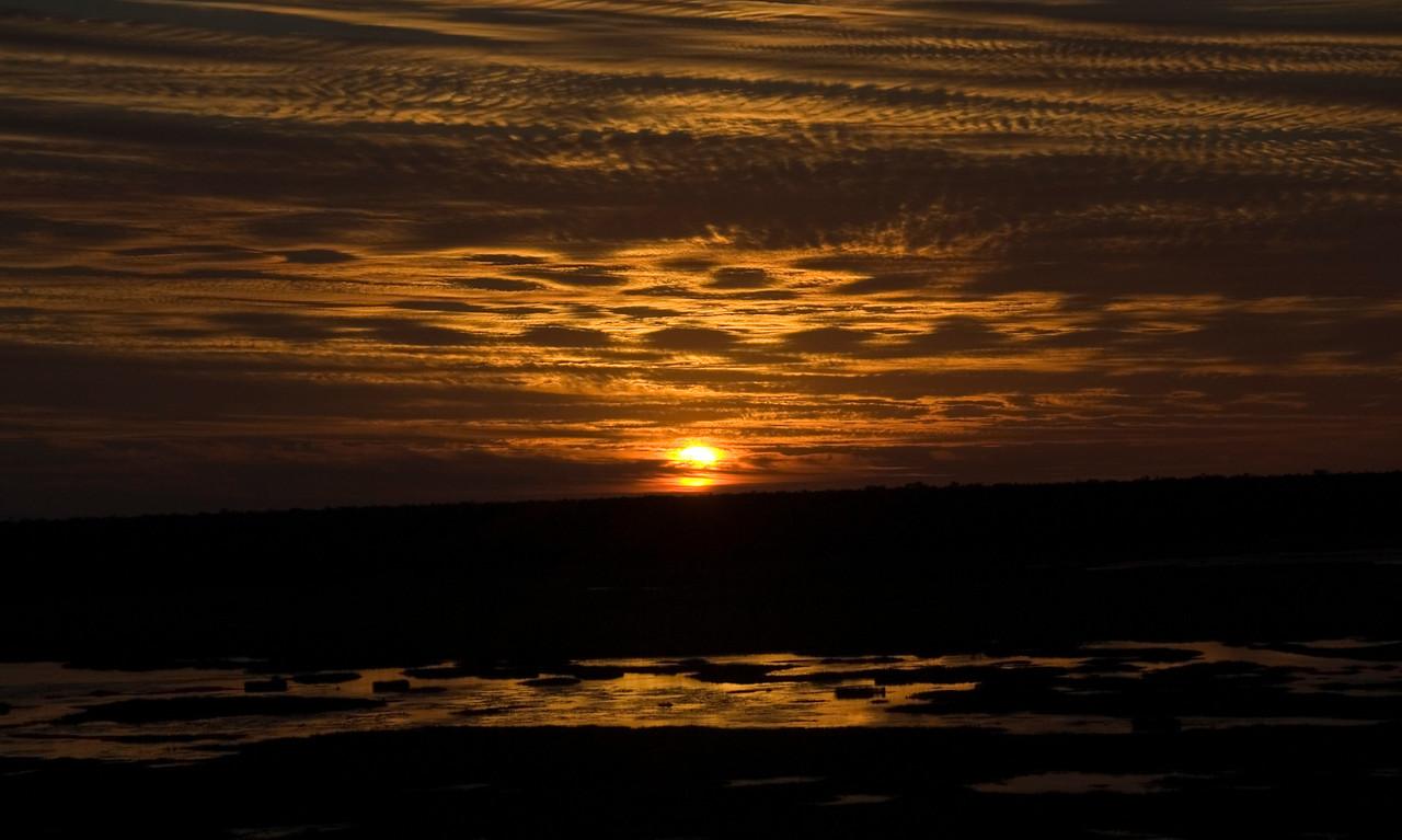 Sunset Over Wetlands 8, Kakadu National Park - Northern Territory, Australia
