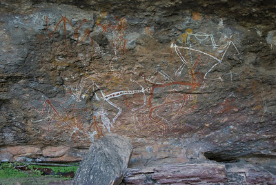 Rock Art 8, Anbangbang, Kakadu National Park - Northern Territory, Australia