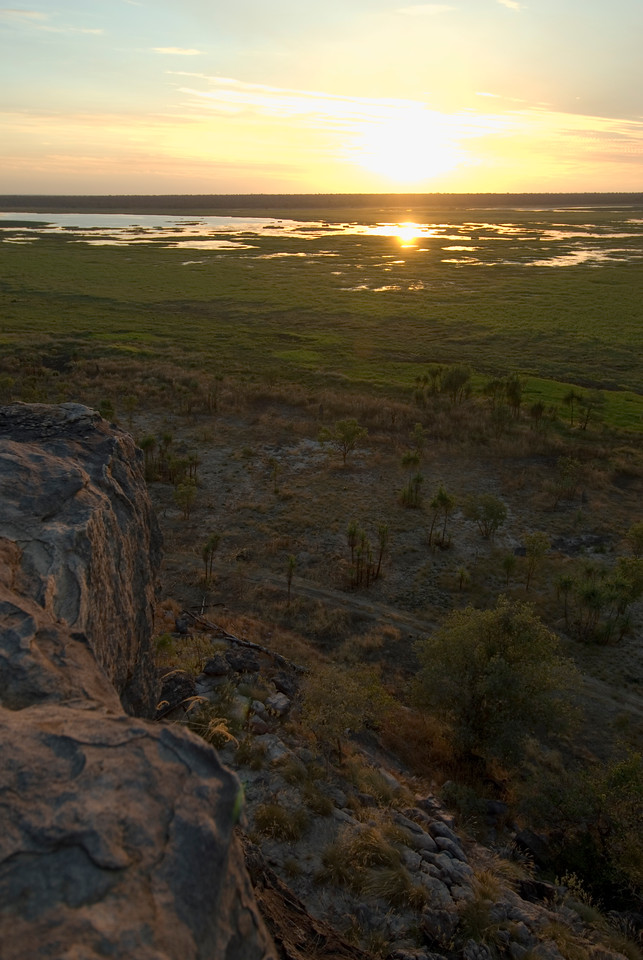 Sunset Over Wetlands 3, Kakadu National Park - Northern Territory, Australia