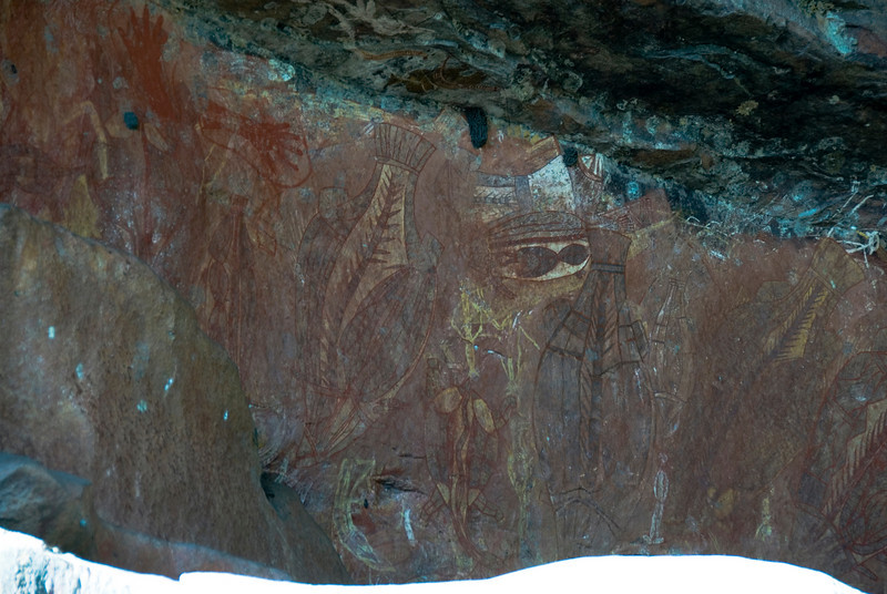 Ubirr Artwork 16, Kakadu National Park - Northern Territory, Australia