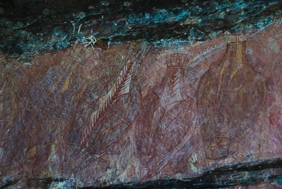 Ubirr Artwork 19, Kakadu National Park - Northern Territory, Australia