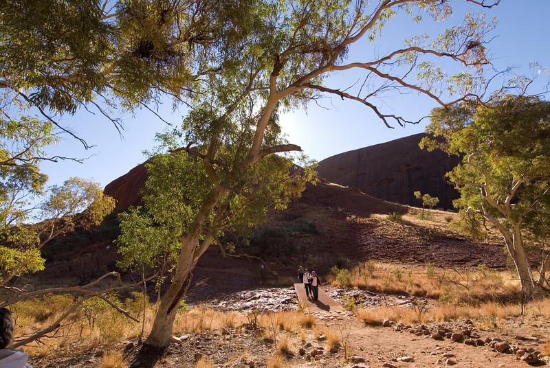Hiking in Kata Tjuta - Northern Territory, Australia