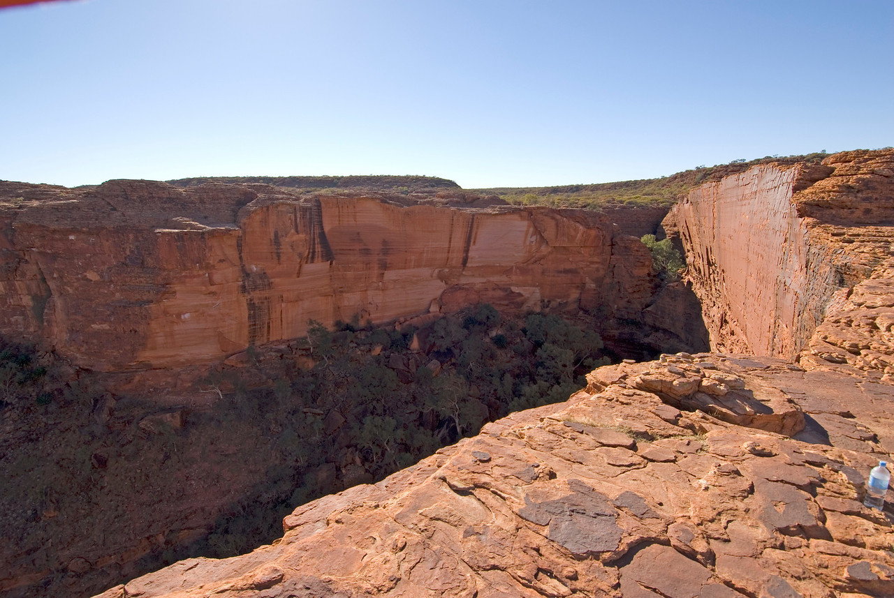 Cliff Face, Kings Canyon - Northern Territory, Australia
