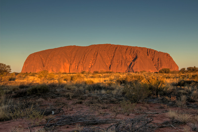 Uluru Sunset HDR  - Northern Territory, Australia