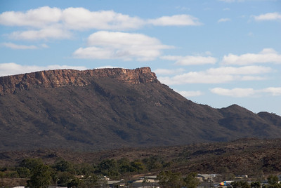 Bluff over Alice Springs - Northern Territory, Australia
