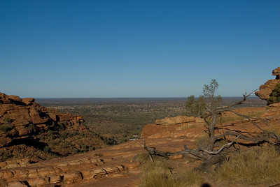 Top of Rim, Kings Canyon - Northern Territory, Australia