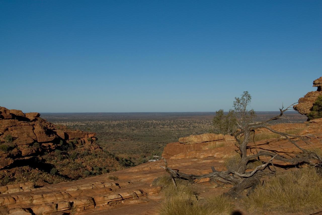 Top of Rim, Kings Canyon - Northern Territory, Australia