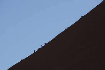 Uluru Climbers 3 - Northern Territory, Australia